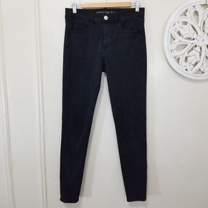 American eagle size 6 long hi rise jegging